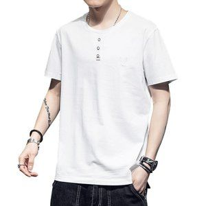 men's trendy short-sleeved t-shirt UU